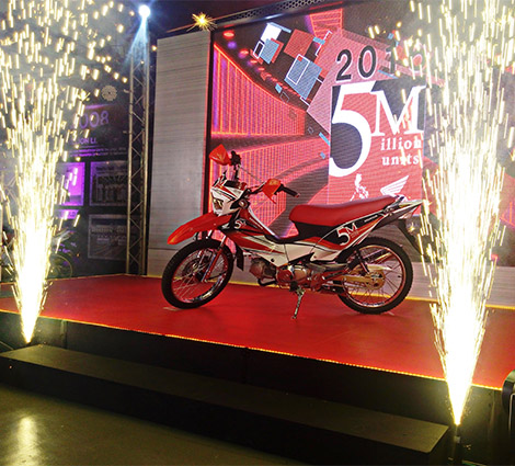 Special Edition Red Honda XRM 125