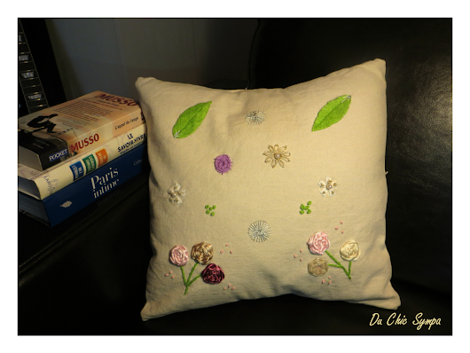 My springtime pillow