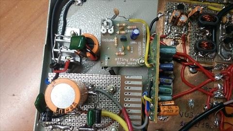 VU3XVR-40m-CW-TXVR-Homebrew-5W-QRP-Transceiver