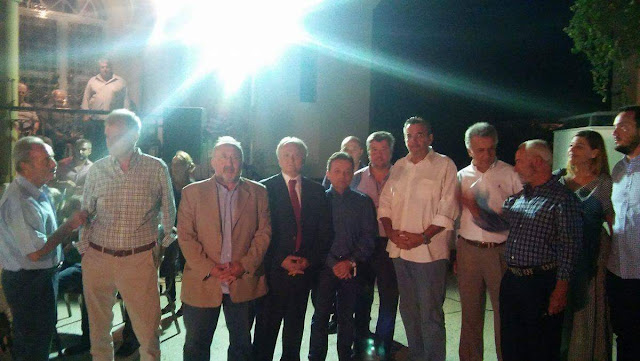 Ανδριανός από την γιορτή κρασιού στο Ηλιόκαστρο: Η πρωτογενής παραγωγή, ο τουρισμός, o πολιτισμός και το περιβάλλον τα συγκριτικά μας πλεονεκτήματα