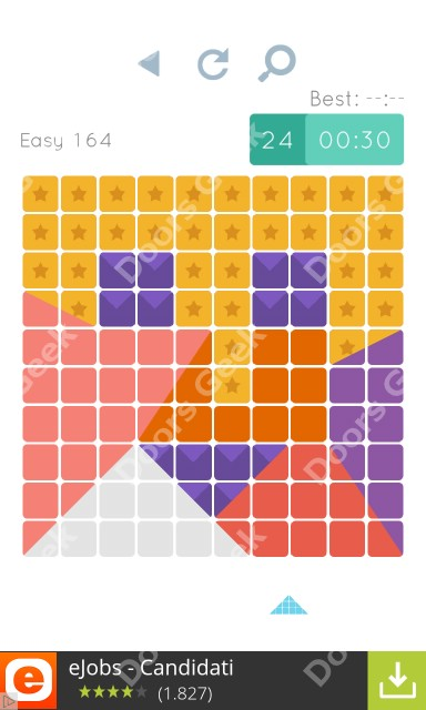Cheats, Walkthrough for Blocks and Shapes Level 164
