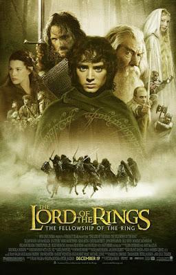 władca pierścieni drużyna pierścienia film recenzja plakat tolkien jackson