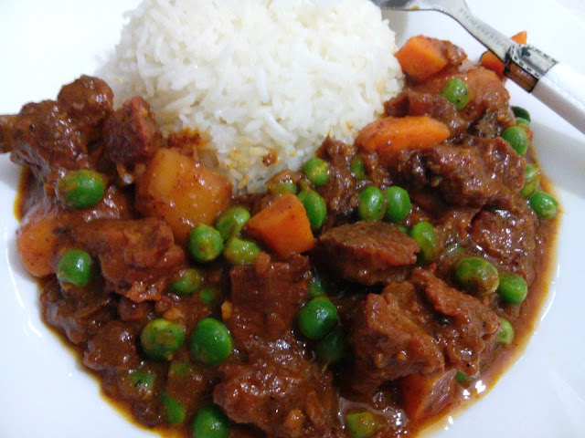 Coconut-rice and Stew