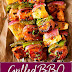 GRILLED BBQ CHICKEN KABOBS
