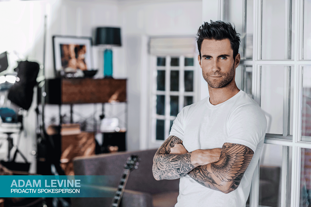 Adam Levine's Secret to his Confidence, Proactiv