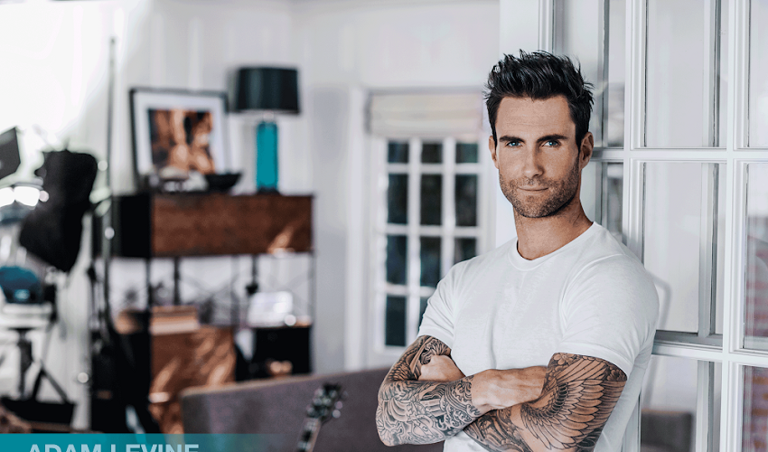 Adam Levine's Secret to his Confidence