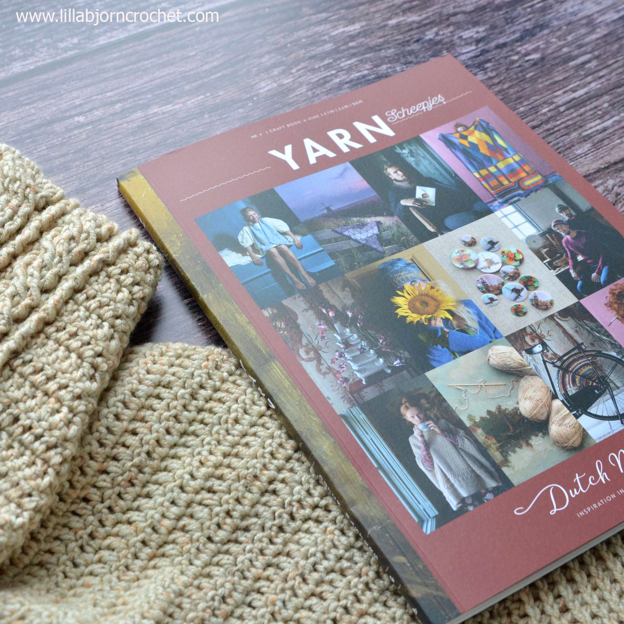 Yarn book-a-zine by Scheepjes. Issue 4 - Dutch Masters
