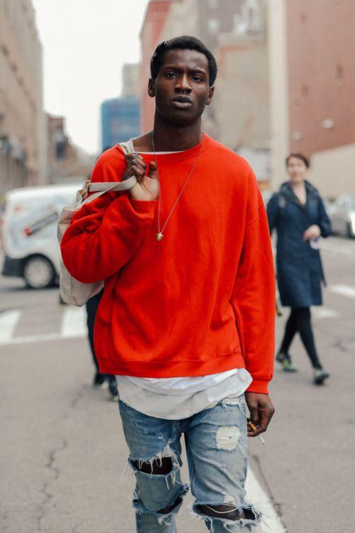 vermelho tendencia inverno 2018 moda masculina