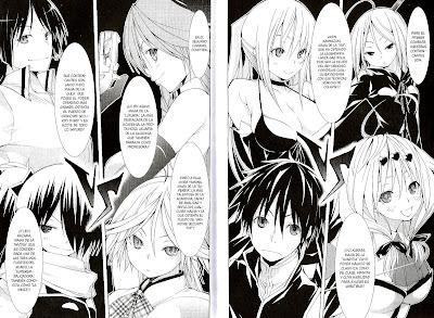 "Reseña de ""Trinity Seven"" (トリニティセブン 7人の魔書使い) vol. 10 de Kenji Saito y Akinari Nao [IVREA]."