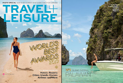 Palawan and Boracay Recognized in Travel + Leisure Magazine