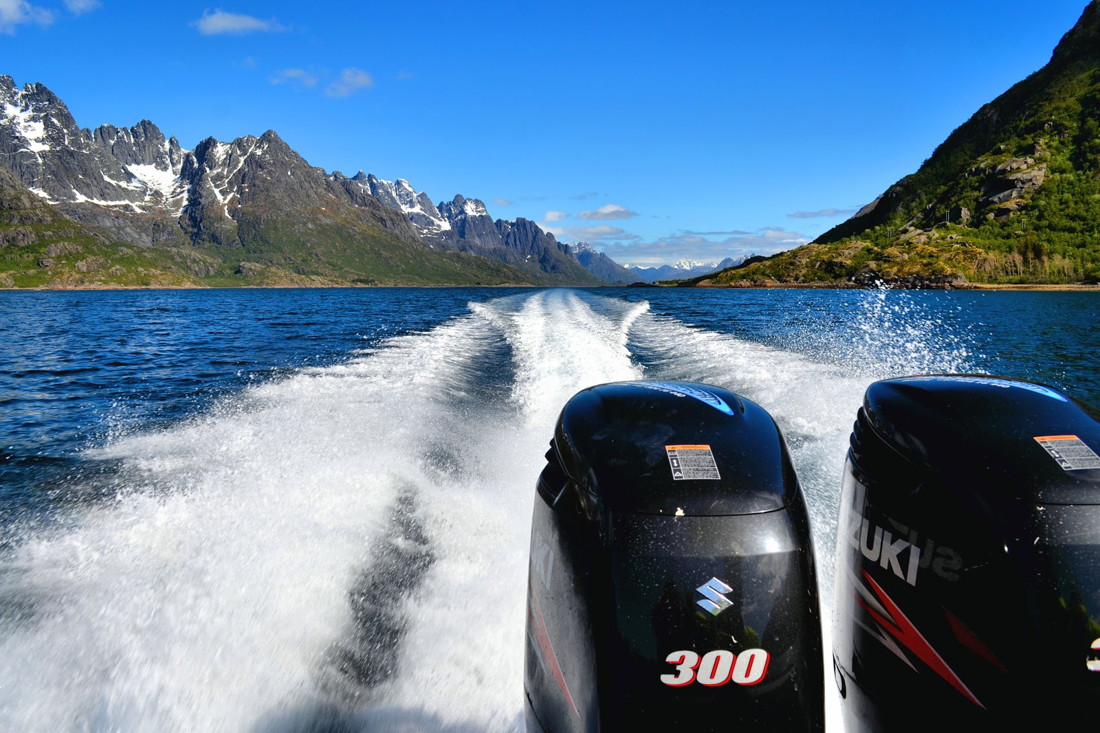 Heart-pounding thrills on board our RIB Safari through the Trollfjord.