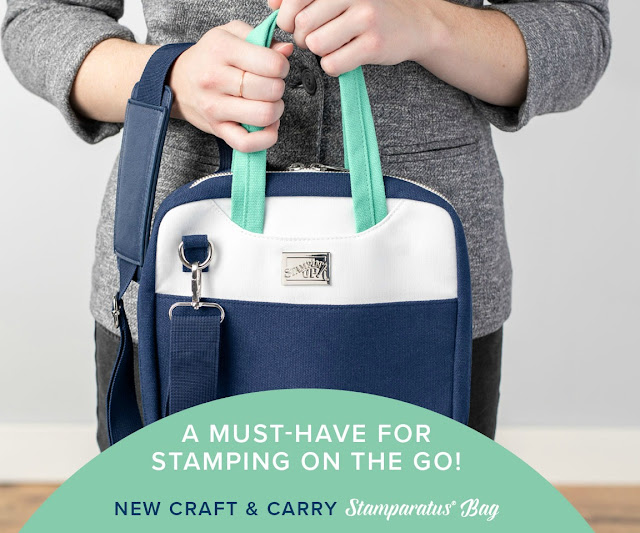 Craft and Carry Stamparatus bag Stampin Up