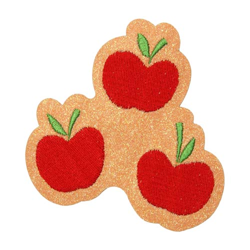 Applejack Cutie Mark Glitter Patch by Elope