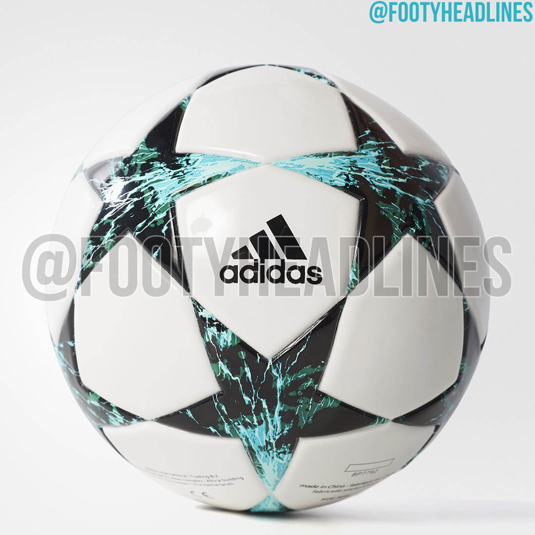 Adidas 2017-18 Champions League Ball Leaked - Footy Headlines