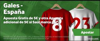 betway promo Gales vs España 11 octubre