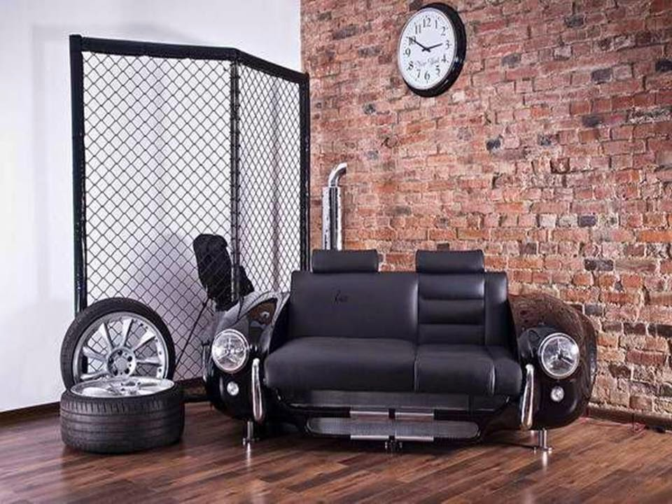 Recycling Cars For Unique Furniture Home Decor