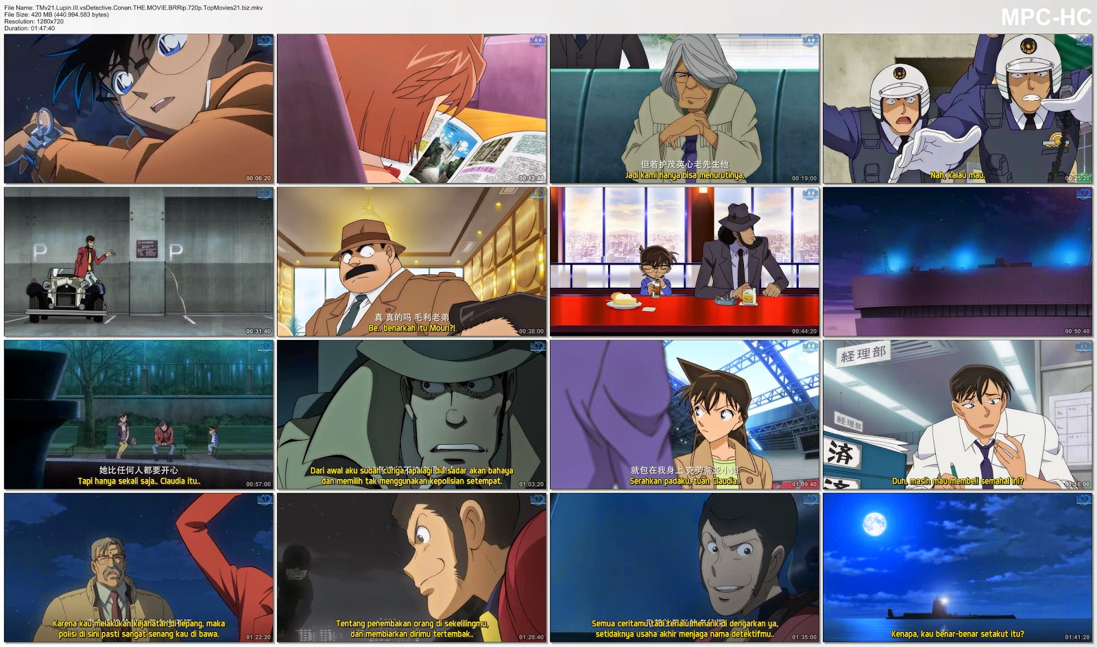 Download detective conan movie 4 full movie : Kindaichi
