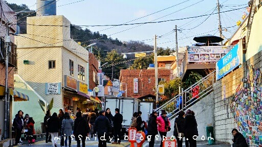 how to get to gamcheon culture village