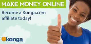 Konga Affiliate Sign up Form