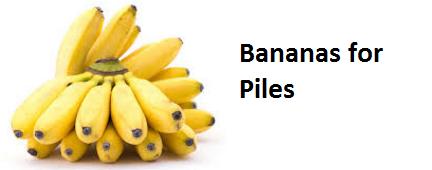 Health Benefits of Banana fruit - Bananas for Piles