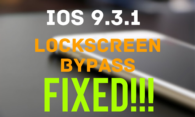 Apple has fixed the Lockcreen bug with its server side update. The bug allowed anyone to access photos and contacts