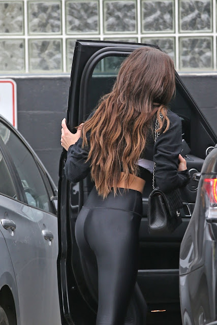 Olivia Culpo in Spandex – Out in West Hollywood