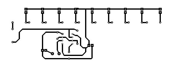 Circuito Electrico De Un Teclado Musical: Circuito