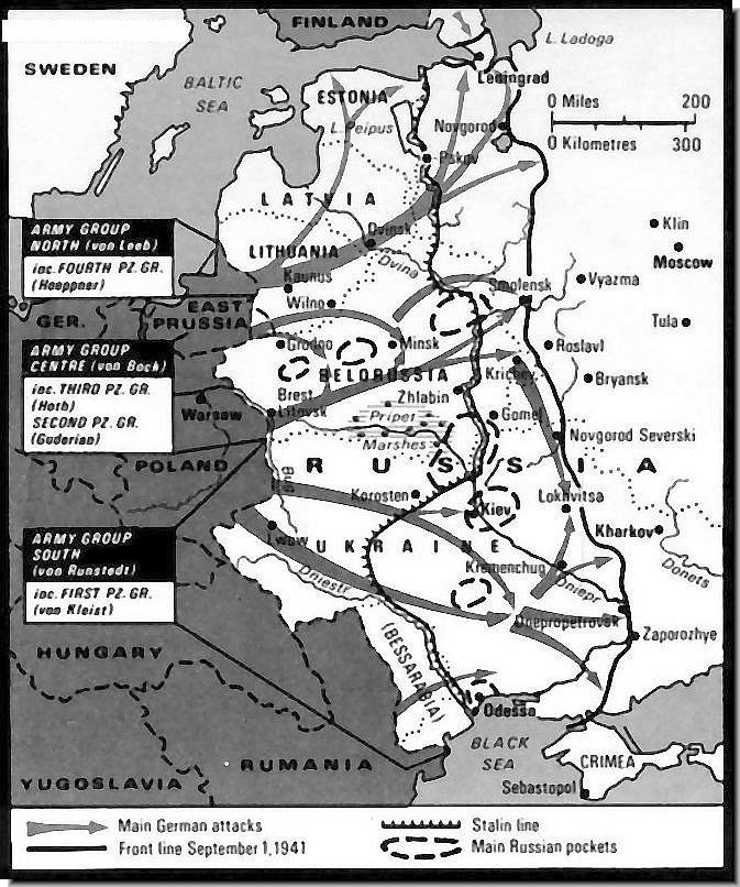 World War 1 Map Black And White. Operation Barbarossa  Nazi Invasion of the USSR June 22 September 1 1941 maps HISTORY IN IMAGES Pictures Of War History WW2 The Eastern