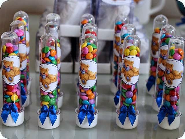 Tubos Personalizados com Confete
