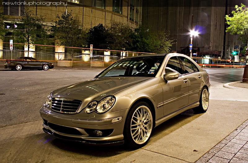 Pimped Out Cars Wallpapers Mercedes Benz C240 4matic W203 Benztuning