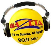 Rádio Gazeta FM de Poxoréo MT ao vivo e online
