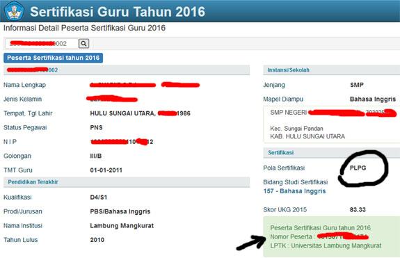 daftar peserta sergur di halaman website resmi sertifikasi guru tahun 2016 4