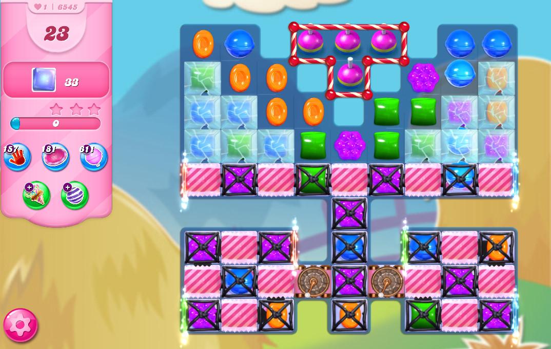 Candy Crush Saga level 6545
