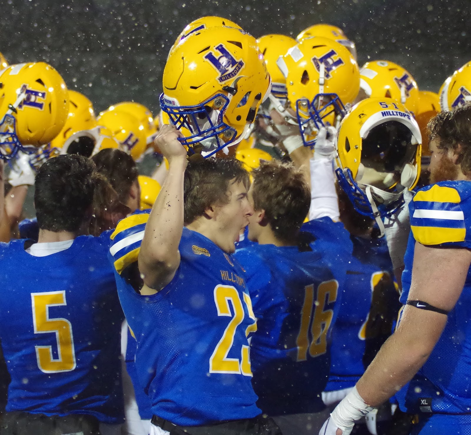 hilltops huskies to battle in first place showdown
