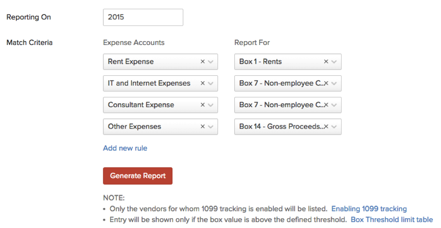 Integrate Zoho Books And Tax1099 Tax1099 Official Blog