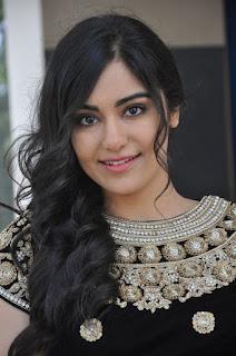 Actress Adah Sharma Latest Stills at Garam Success Meet  0001