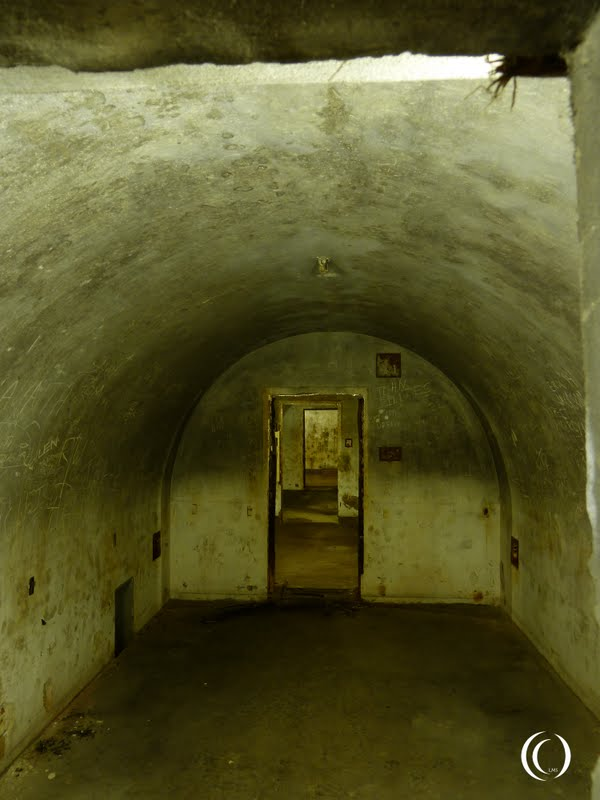 One of the chambers in the tunnel system of the Obersalzberg Germany