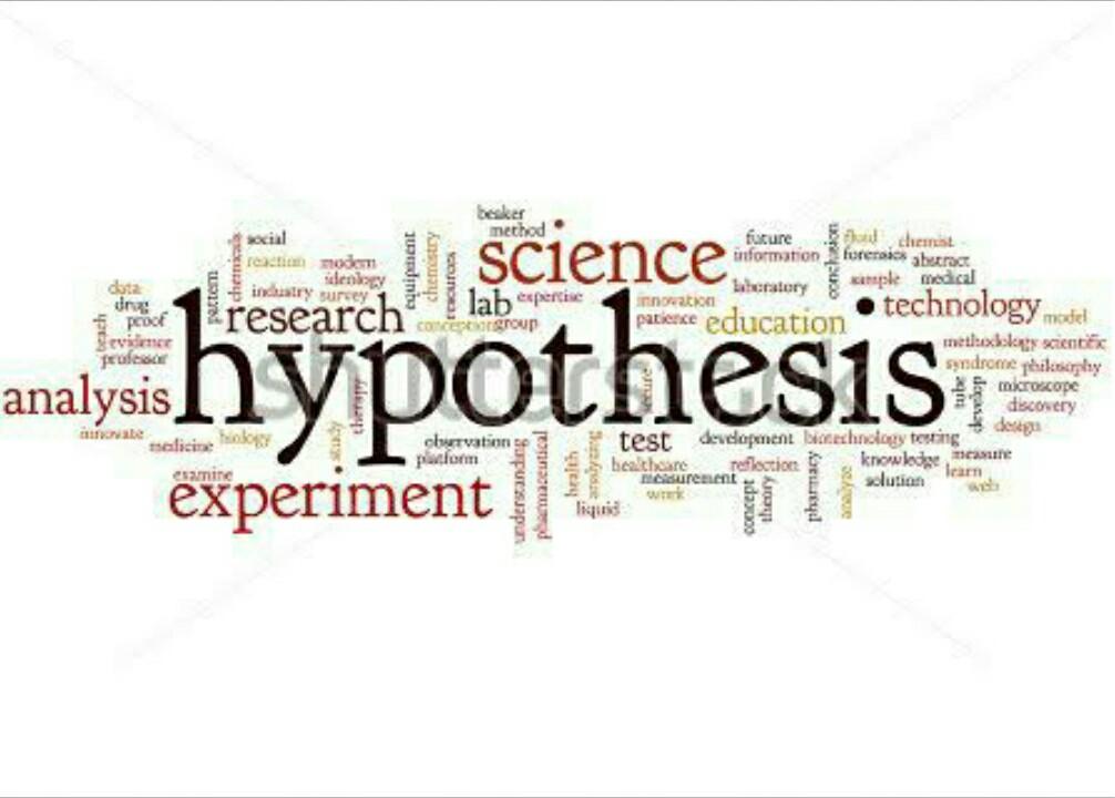 Merumuskan hipotesis