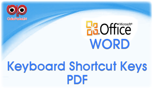 Microsoft Word's Keyboard Shortcut keys pdf download free Microsoft Word's Keyboard Shortcut keys 2003, 2007, 2010, 2013, word ms word excel Microsoft Word's Keyboard Shortcut keys free download