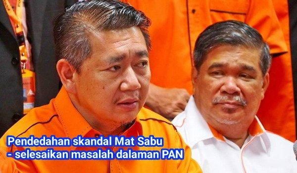 PRU14: Pendedahan skandal Mat Sabu - selesaikan masalah dalaman PAN