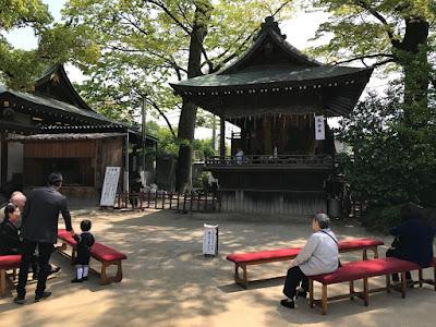 久伊豆神社太々里神楽(平成29年4月29日)