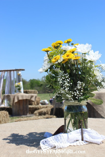 daisy flower arrangement