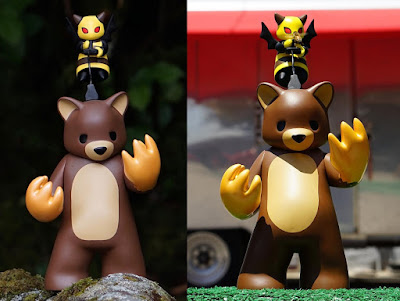 San Diego Comic-Con 2018 Exclusive 10th Anniversary Possessed Honey Bear Edition Vinyl Figure by Luke Chueh x Munky King