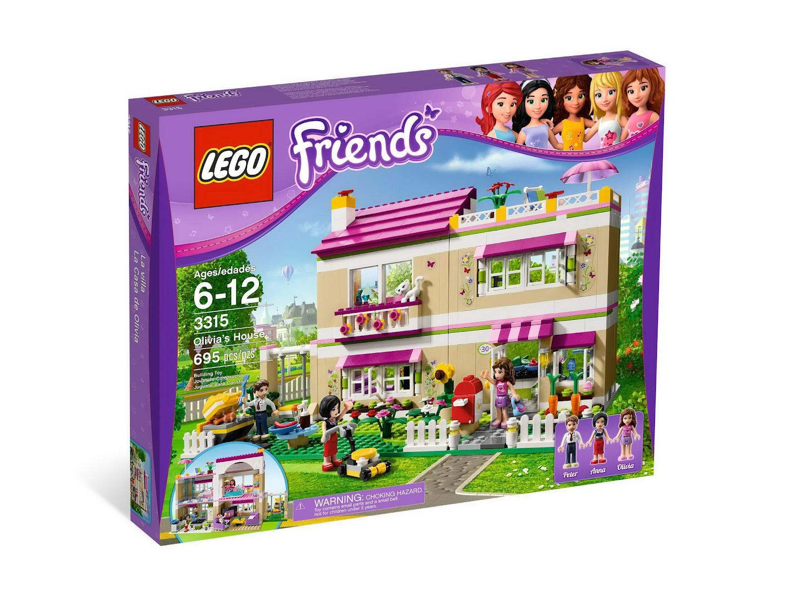 Www Onetwobrick Net Set Database Lego 3315 Olivia S House