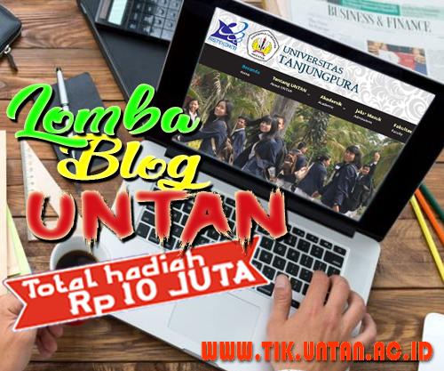 Kontes SEO BLOG Bersama UNTAN Membangun Negeri 2018