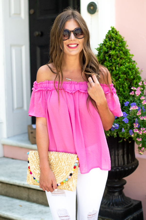 Southern Belle Blouse - Cotton Avenue Boutique