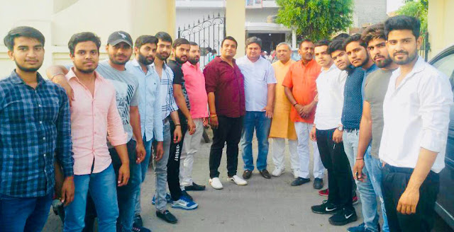 Meeting of young Brahmin unity association on preparations for Parasuram Janmotsav