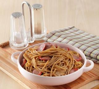 Spaghetti Teriyaki