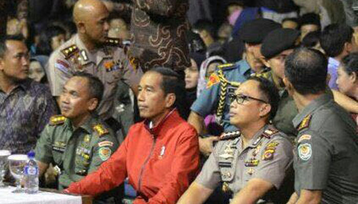 Presiden dan Panglima TNI Nobar Film G30S/PKI, Tuduhan Jokowi pro PKI Gagal Maning Son !!