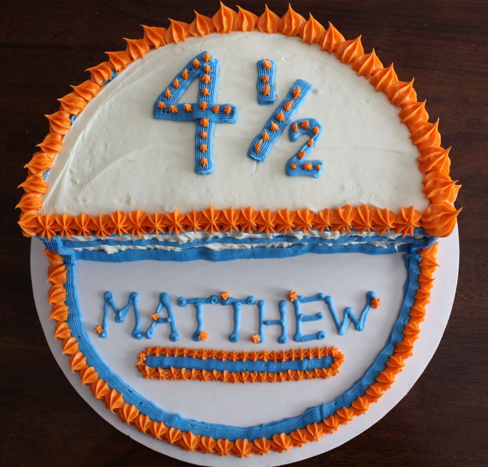 Straight To Cake Winner S Cake Half Birthday